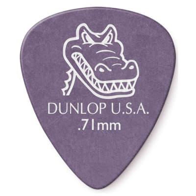 Dunlop .71mm Gator Grip Pick (12-Pack)