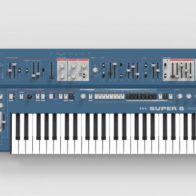 UDO Audio Super 6 12-Voice  Blue **arriving on 4/13/2021**