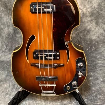 Klira Twen Star Beetle Bass 60's Sunburst needs work for sale