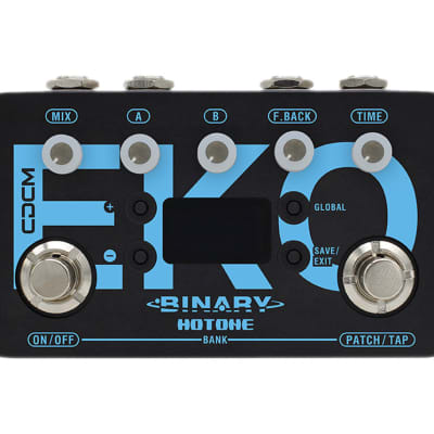 Hotone Binary Eko CDCM Delay Effects Pedal for sale