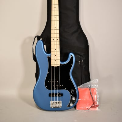 2018 Fender American Performer Precision Bass Satin Blue Electric Bass Guitar