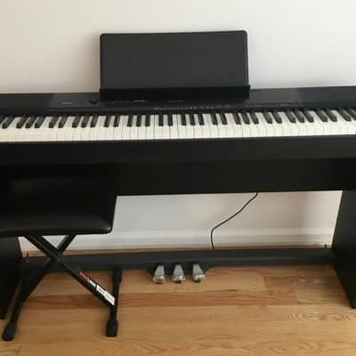 Casio Privia PX-150 88 Key Digital Piano with all accessories