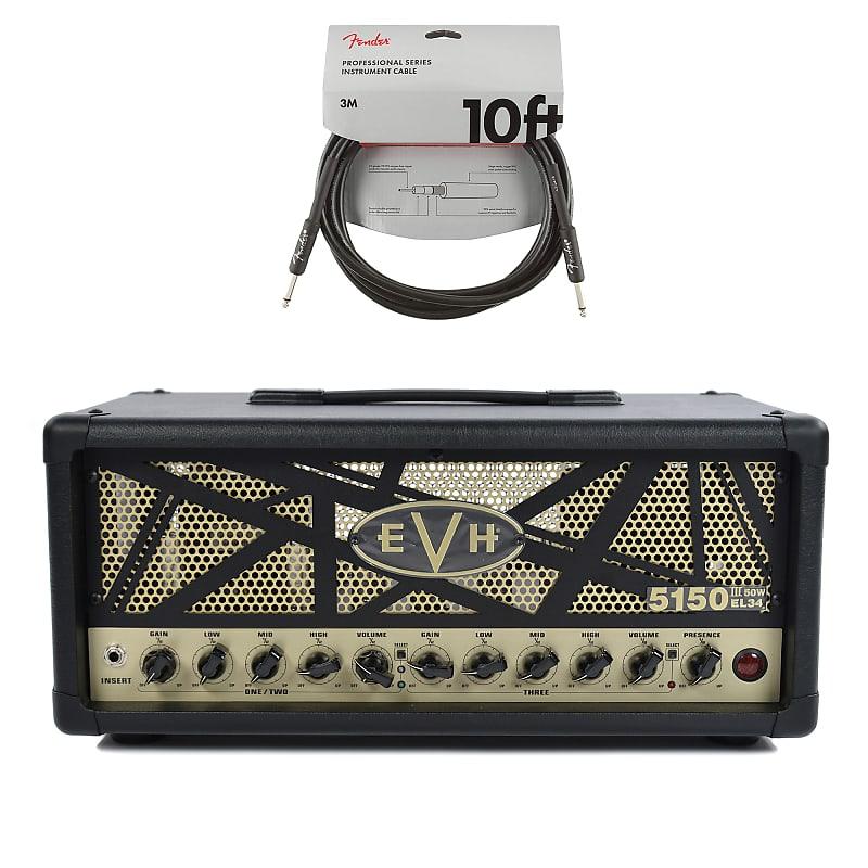 evh 5150 iii 50 watt el34 head black cable bundle reverb. Black Bedroom Furniture Sets. Home Design Ideas