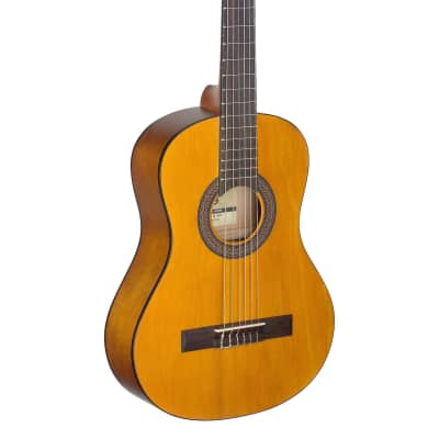 Stagg C410 1/2 Size Classical Guitar (Natural Matt) for sale