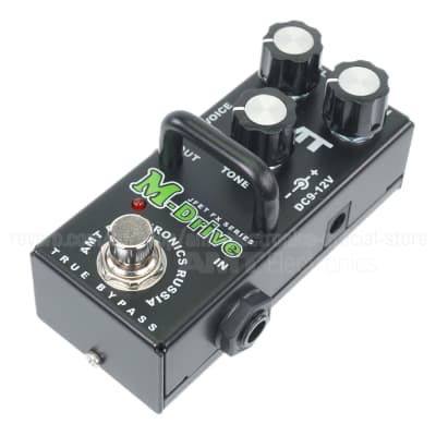 AMT Electronics M-Drive mini (Marshall JCM800 Emulation) - JFET distortion pedal