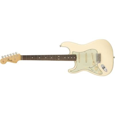 Fender American Original '60s Stratocaster 6-String Left Handed Electric Guitar, 21 Frets, Thick  60s C  Neck, Round-Laminated Rosewood Fingerboard, G for sale