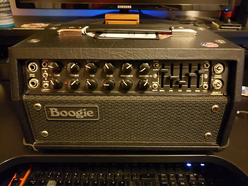 Mesa Boogie Mark V 25 Head 2 Channel Guitar Amplifier | Reverb