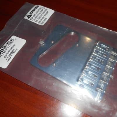 CHROME NEW Genuine Fender Standard Series Tele Bridge Assembly 005-3354-000