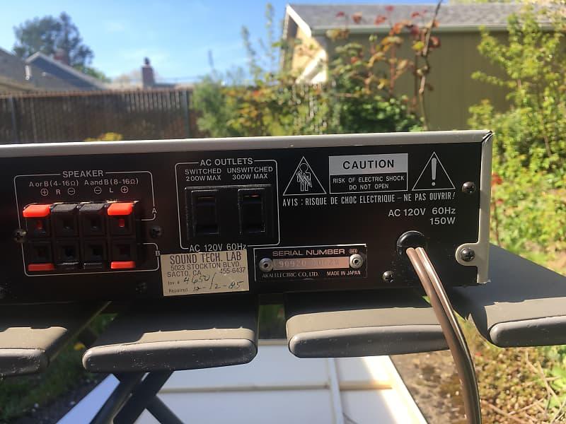 Akai AA-A25 stereo receiver - Refurbished!