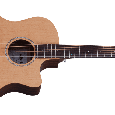 Schecter Acoustic Guitar Deluxe [Natural Satin] for sale