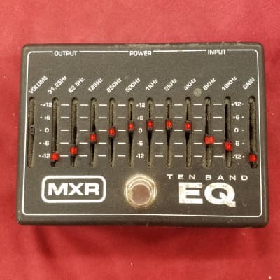 MXR Ten Band Graphic Equalizer M-108 Black