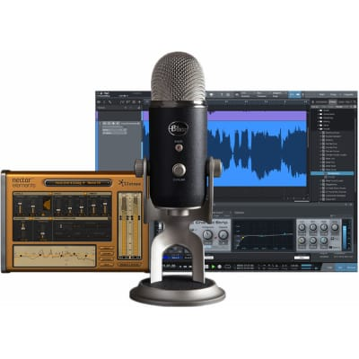 Blue Yeti Pro Studio USB Condenser Microphone and Software (Pre-Order)