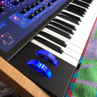 Dave Smith Instruments Poly Evolver Synth 61-note - Mint w/ PE knobs and solid wood end cheeks