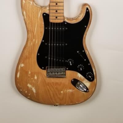 Fender Stratocaster Custom Natural Electric Guitar