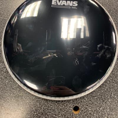 Evans 10 inch Black Chrome Drum Head Black Chrome