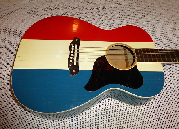 Vintage 19691970 Harmony Buck Owens American F 70 H 169 Reverb