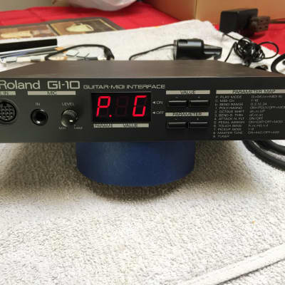 Roland Guitar MIDI interface with Power Supply GI-10 GK-2A & accessories