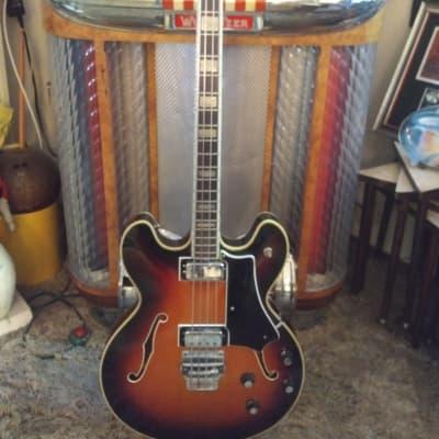 Wurlitzer model# 7780 1968 Cherry burst for sale