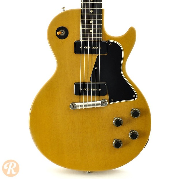 Gibson Les Paul Special Tv Yellow 1956 Reverb