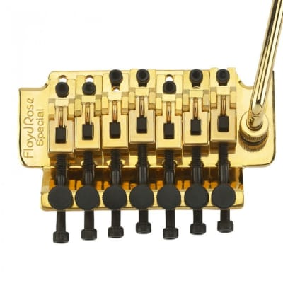 FLOYD ROSE SPECIAL SERIES 7 STG TREMOLO - GOLD for sale