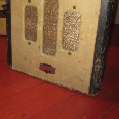 1947 National Valco Small Tube Amp Brown Tolex for sale