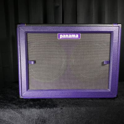 Panama Guitars  Tonewood Series 2x12 Cabinet 2017 Purple and Black