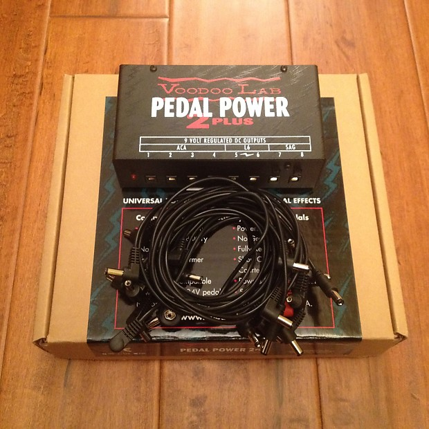 voodoo lab pedal power 2 plus isolated pedalboard power reverb. Black Bedroom Furniture Sets. Home Design Ideas