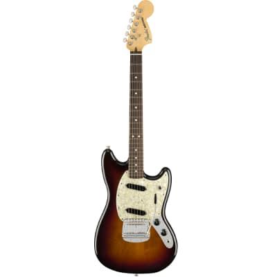 Fender American Performer Mustang - 3-Color Sunburst Electric Guitar