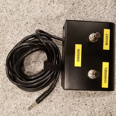 Gibson Goldtone 2 Button Footswitch For GA-30, Head/combo And GA-60 for sale