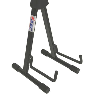 Pro Audio Low Profile Adjustable Electric or Bass Guitar Road Ready Stand