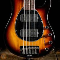 Ernie Ball Music Man Sterling 5 HH 2010s Vintage Sunburst or Natural Gloss image
