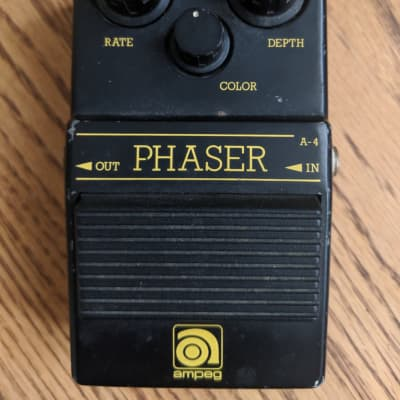 RARE Ampeg Phaser A-4 80's made in Japan