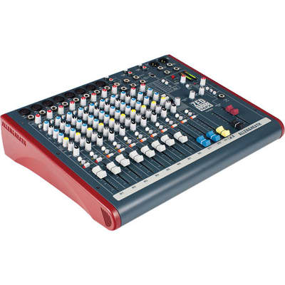 Allen & Heath ZED60-14FX Multipurpose Mixer with FX and USB I/O Port for Live Sound/Recording