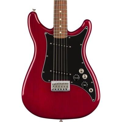 Fender Player Lead II Pau Ferro Fingerboard Crimson Red Transparent