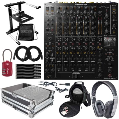 Pioneer DJ DJM-V10 6-Channel 4 Band EQ Serato DVS Pro Club Mixer w Silver Case