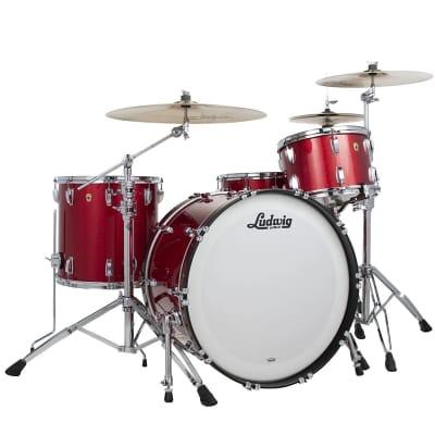 "Ludwig Legacy Mahogany Mod Outfit 8x10 / 9x12 / 16x16 / 18x22"" Drum Set"