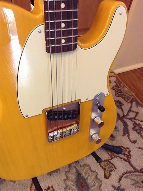 Jack Rabbit Usa >> Partscaster Fender Esquire (Ash body butterscotch finish and | Reverb