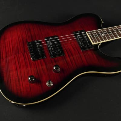 Fender Special Edition Custom Telecaster FMT HH Rosewood Fingerboard Black Cherry Burst (735) for sale