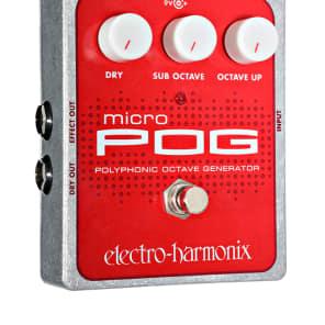 New Electro-Harmonix Micro Pog Pedal!