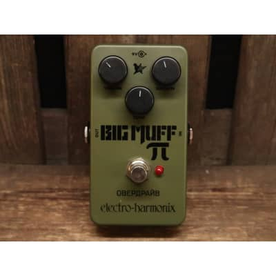 Electro Harmonix EHX Green Russian Big Muff Pi for sale