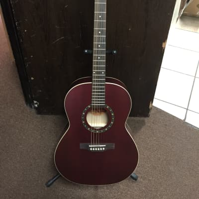 Norman Protege B18 Cedar Folk Acoustic Guitar Burgundy - LOCAL PICKUP ONLY for sale
