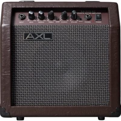 AXL AA-G15-AC Acoustic Amplifier, 15W, bla474 for sale