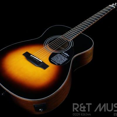 Freshman FOP1OTSB Open Plains Series Electro Acoustic Guitar in Tobacco Sunburst for sale