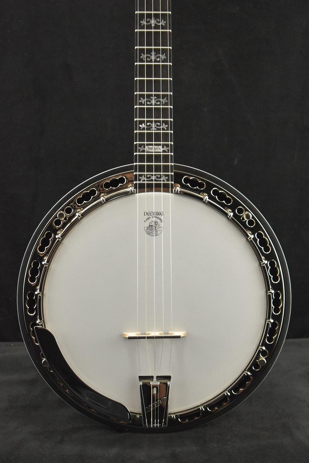 Deering Sierra 5-String Banjo Mahogany