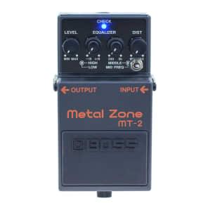 Boss MT-2 Metal Zone Distortion w/ Keeley Mod
