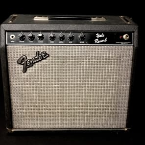 "Fender Yale Reverb 50-Watt 1x12"" Solid State Guitar Combo 1983 - 1985"
