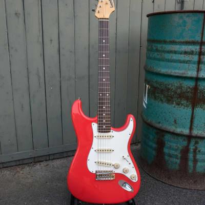 Lumtric STR (Sonic Guitars) Fiesta Red Boutique Custom Guitar