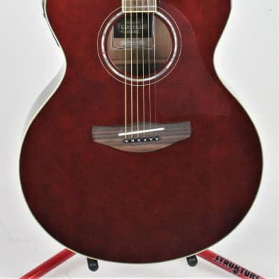 Yamaha  Compass Series CPX 600 Medium Jumbo Cutaway Acoustic (Root Beer Finish) for sale