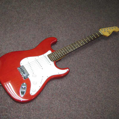 Eleca  Electric Guitar  Red 2010-2016 for sale