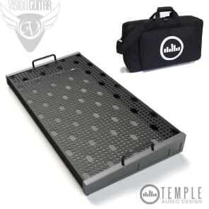 "Temple Audio Design Duo 24 (24.5"" x 12.5"") Pedalboard w/Soft Case - Gun Metal"